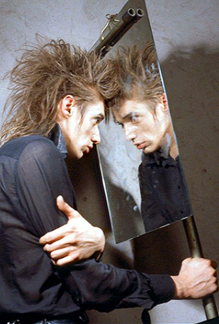 Blixa Bargeld Mirror image, Nick Cave and the Bad Seeds, Einstürzende Neubauten