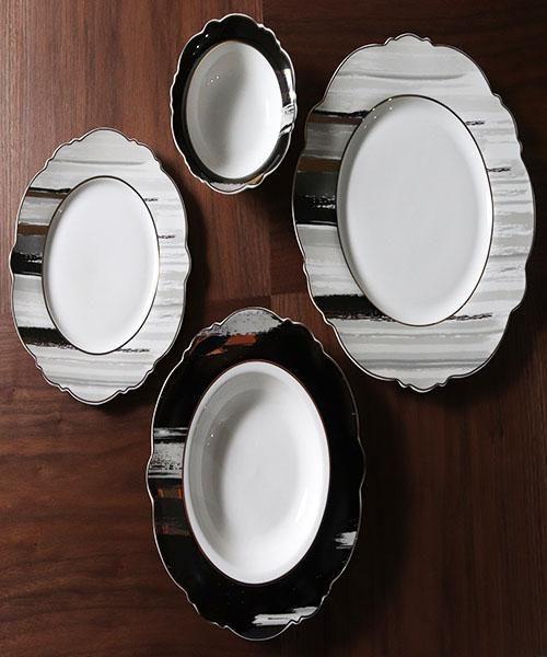 اطباق تقديم طعام 24 ق Plates Tableware