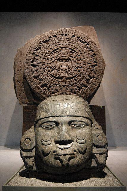 Calendario Azteca, Museo Nacional de Antropología, México