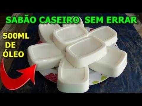 Sabao Caseiro Em Barra De Bicarbonato Bem Duro Youtube Com