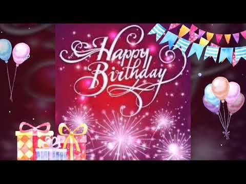 اغنية عيد ميلاد سعيد جميلة جدا Youtube Happy Birthday Video Happy Birthday Frame Birthday Gif