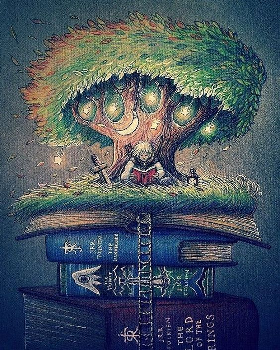 tolkien.lovers: This fantastic world of Tolkien's books. This pic is so lovely