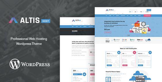 web hosting wordpress theme free