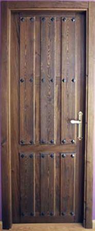Puertas de interior r sticas en maderas macizas http - Puertas rusticas de exterior segunda mano ...