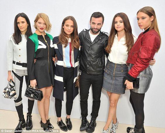 Brand ambassadors:Jennifer Connelly, Lea Seydoux, Alicia Vikander, Nicolas, Selena and Ad...: