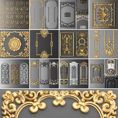 3d modesl stl  collection Frames
