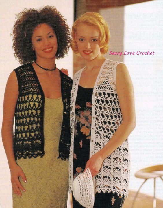 Crochet Uk Vest Pattern Crochet Pineapple Pattern Plus Sizes