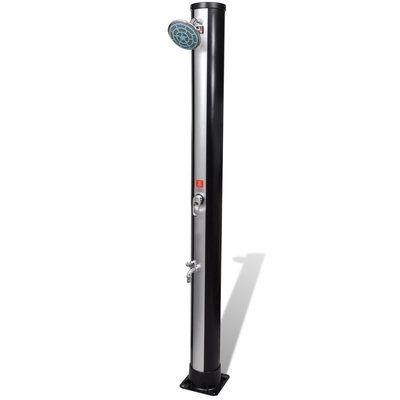 Vidaxl Free Standing Outdoor Shower Solar Shower Outdoor Solar