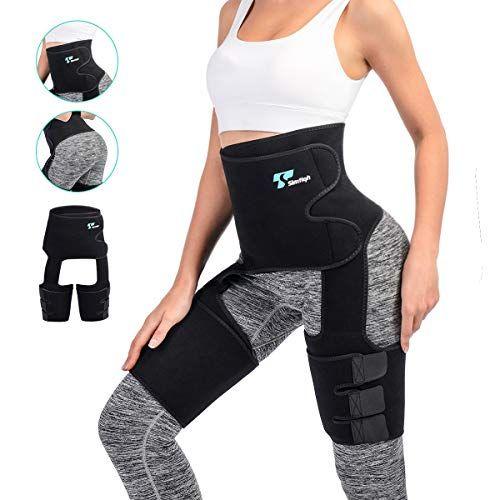 3 in 1 High Waist Women Thigh Trimmer Butt Lifter Waist Trainer Leg Body Shaper
