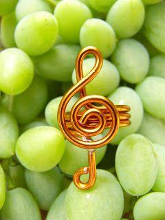 Creazioni Aramen: Anelli in rame    Music ring
