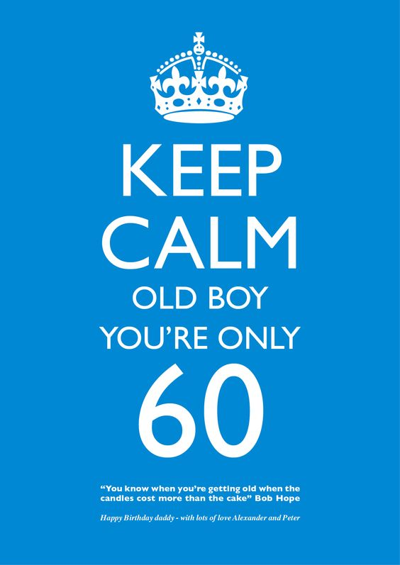 Happy 60th Birthday Birthdays Pinterest