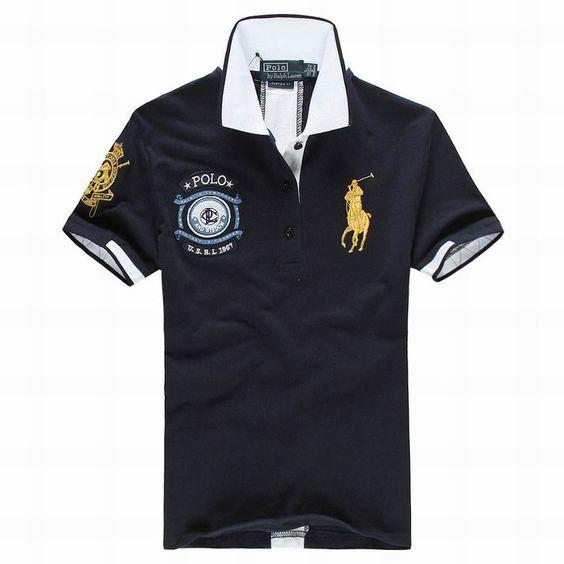 ralph lauren uk outlet Women\u0026#39;s USRL 1967 Short Sleeve Polo Shirt Navy Blue http:/