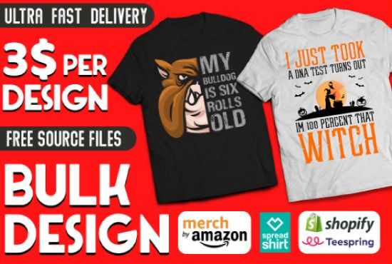 I Will Make Merch By Amazon Design With Descriptions And Keywords Merch Shirts Tshirt Designs