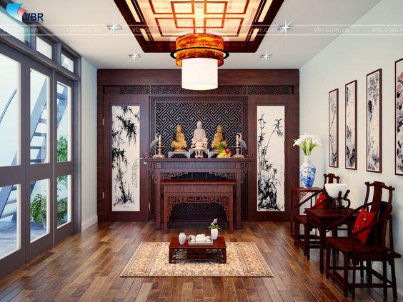 Phòng thờ-Bố Trí Phong Thủy Phòng Thờ