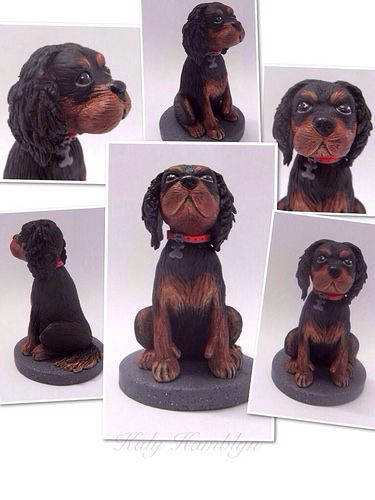 Clay Sculpture Dog