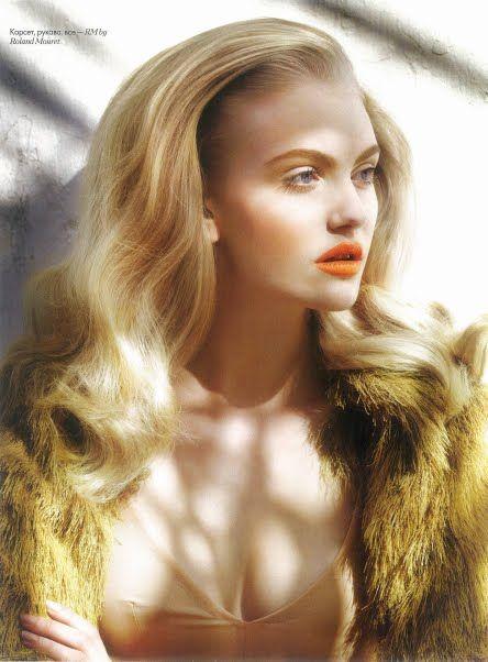 Orange Lips + Hair