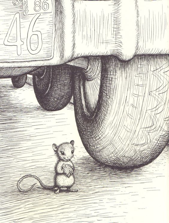 """""""Harry Kitten and Tucker Mouse"""" by George Selden, 1986"""