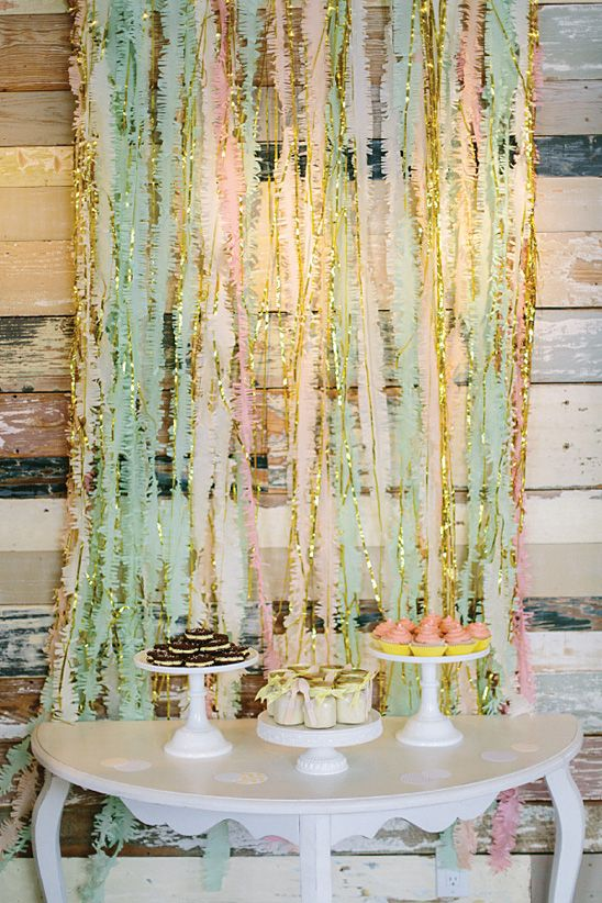 A Pretty Surprise Baby Shower in Gray, Yellow, Pink, and Mint