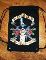 Mochila pequeña Guns and Roses