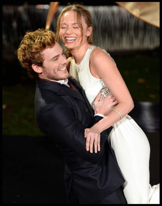 Sam Claflin Is So In Love With His Wife In These Catching ...