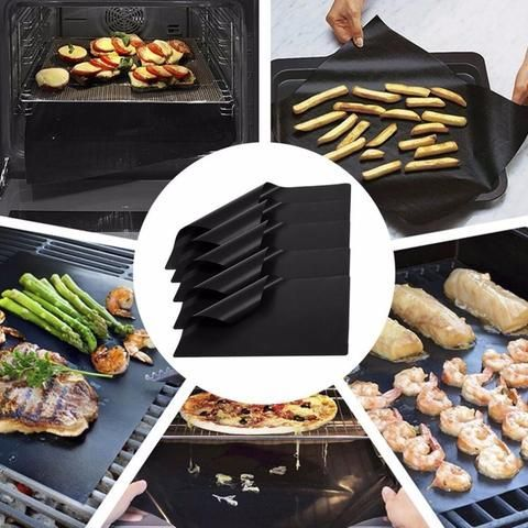 How To Use Non Stick Bbq Grill Mat Bbq Grill Mats Cooking Sheet