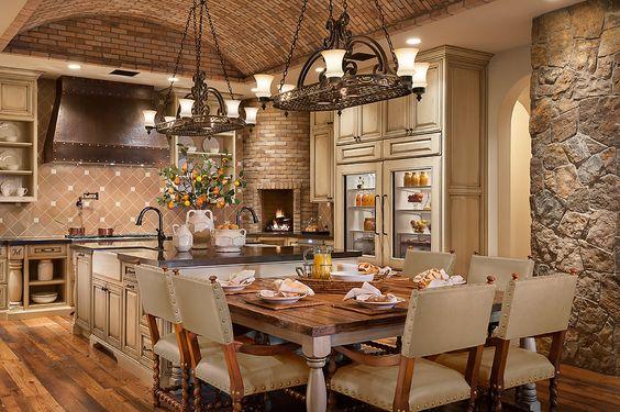 Southwest Style Kitchen Kitchen - Santa Fe, Southwestern