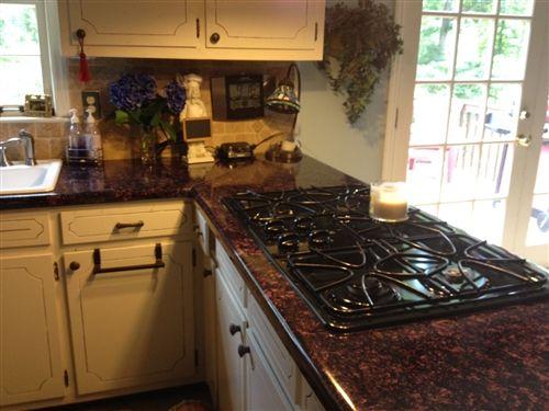 Temporary Decorating Solutions Faux Granite Countertops Kitchen Granite Countertops And