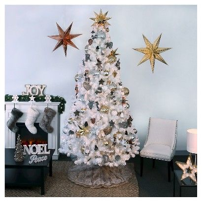 Frosted Forest Christmas Ornaments Collection