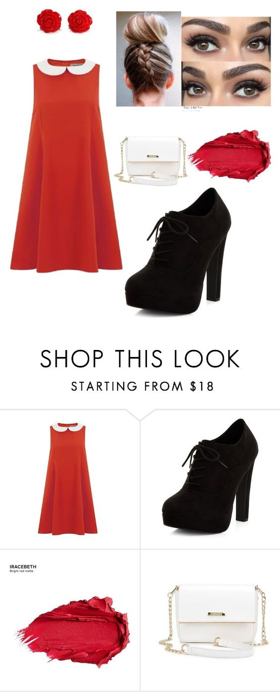 """""""Untitled #142"""" by vaniadenisse16 ❤ liked on Polyvore featuring New Look and Urban Decay"""