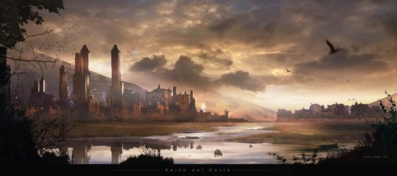 Reino del Oeste by José Julián Londoño Calle | Fantasy | 2D | CGSociety