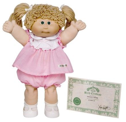 10 Retro Eighties Toys You Wish You Still Had For Your Kids- I still have my '90s version-Crimp n' curl cabbage patch doll