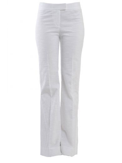 DIANE VON FURSTENBERG Diane Von Furstenberg Flared Pants In Cotton. #dianevonfurstenberg #cloth #pants-shorts