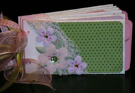 "TP-Mini Fotoalbum ""Bibi"" von Pink Paper Raven auf DaWanda.com"