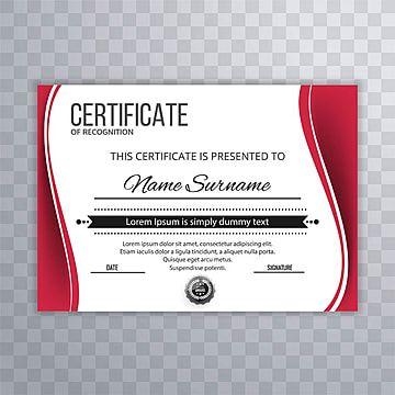 ملخص جميل شهادة تقدير تعويض قالب Award Template Certificate Of Appreciation Template Design
