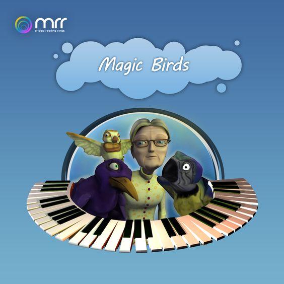 Magic Birds  Primeira APP desenvolvida e publicada para Apple iPAD, também disponível para Windows. Livro/aplicação para crianças.