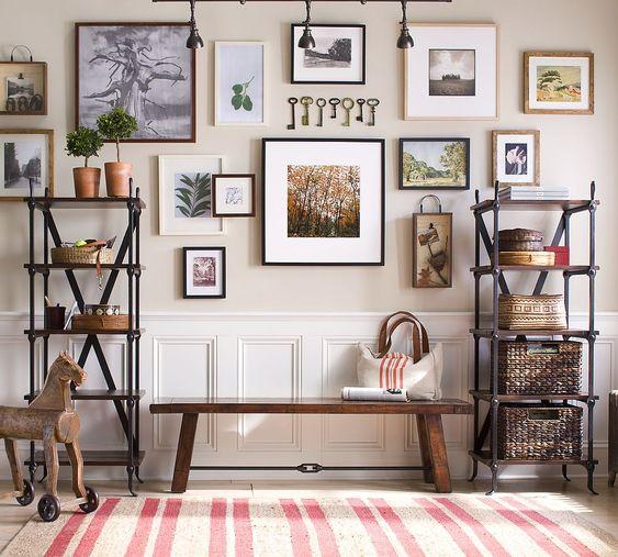 Hallway ideas from Pottery Barn