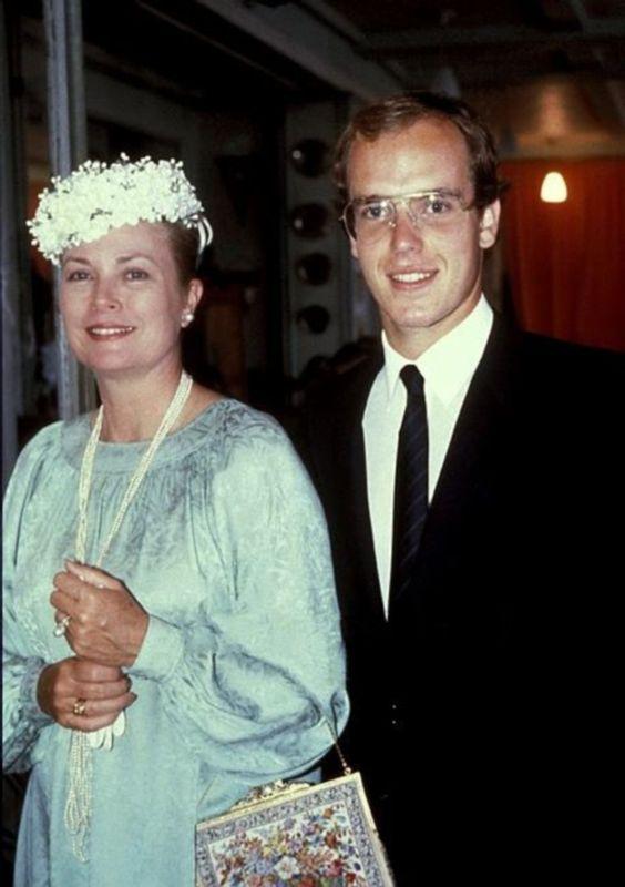 Prince Albert and Princess Grace