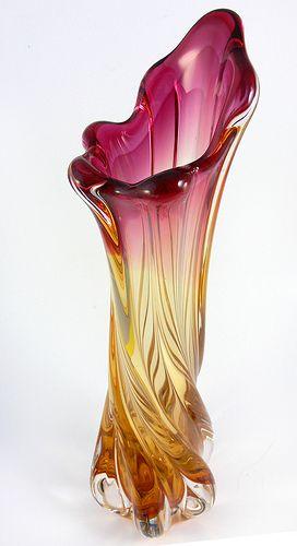 Glass Vase: