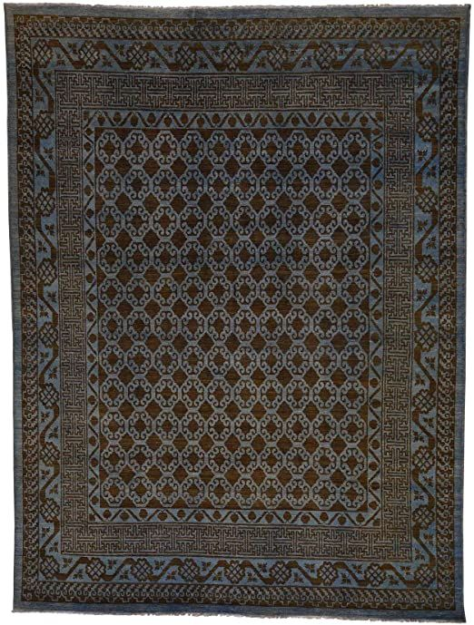 8 9 Quot X11 8 Quot Peshawar Hand Knotted Pure Wool Oriental Rug In 2020 Oriental Wool Rugs Oriental Rug Rugs