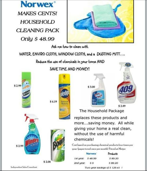 Norwex Cleaning Supplies: Save Money With Norwex!
