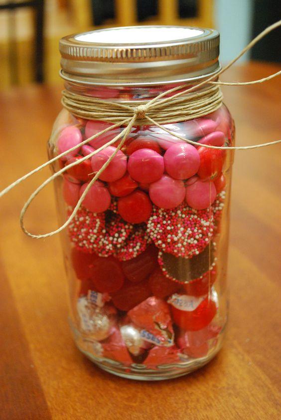 valentine jar gifts