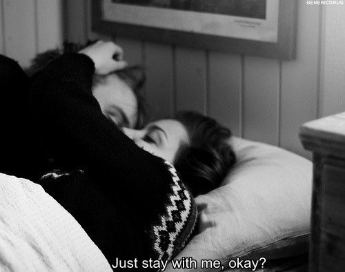 just stay with me