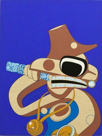 Native art with a hip hop beat -   Vancouver Art Gallery showcases contemporary aboriginal works  CBC News Posted: Mar 1, 2012