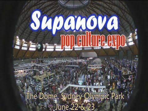 supanova pop culture expo 2013, Sydney - The Event.