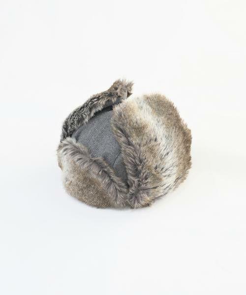 VICTIM(ヴィクティム)のVICTIM × CA4LA / BOMBER CAP(キャップ)|グレー