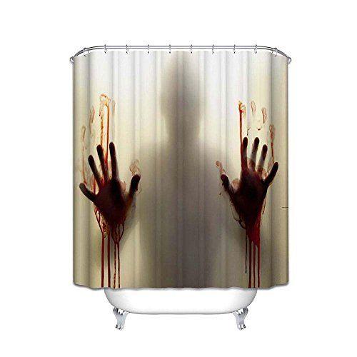 10 Scary Halloween Shower Curtains Bathtub Decor Halloween