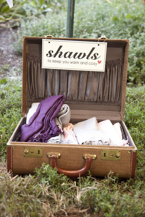 shawls for guests