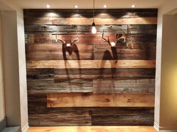 Mur Bois De Grange Salon : mur brun de bois de grange – Recherche Google