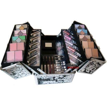 maleta para maquiagem profissional firenzza