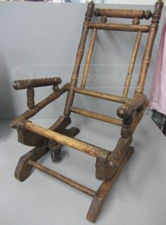 spring antique dexter and more dexter spring auction rocking chairs ...